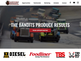 Bandit Big Rig Racing Series Partner Sit