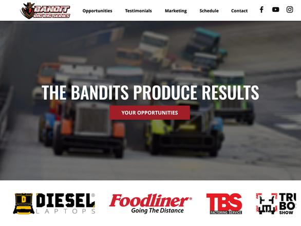 Bandit Big Rig Racing Series Partner Sit