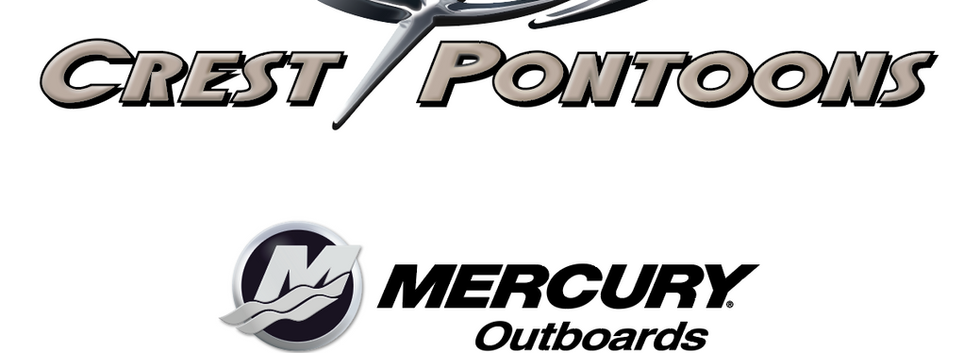 Crest Pontoons and Mercury Outboards at