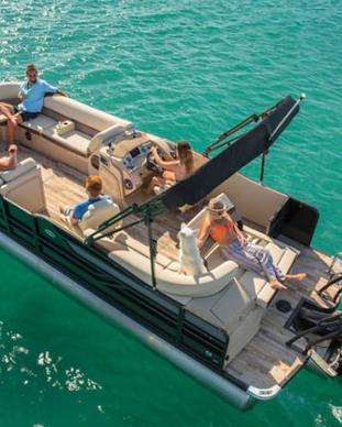 new cret pontoons for sle prior lake minnesota knottyoar marina