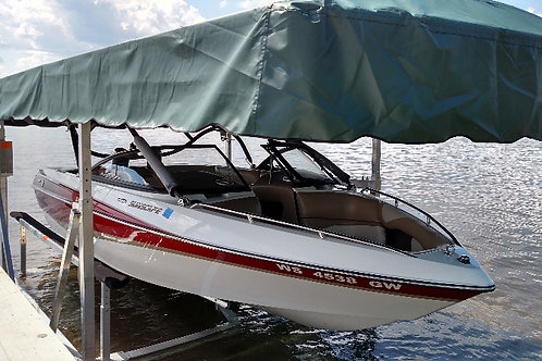 QUARRY LAKE: Annual boat storage