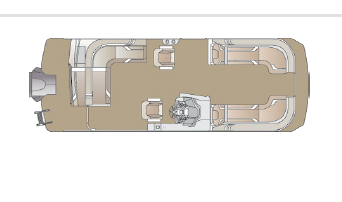 KNOTTY OAR MARINA CREST PONTOON 2021 Car