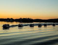 Knotty Oar Marina Pontoon Rental Fleet on Prior Lake.jpg