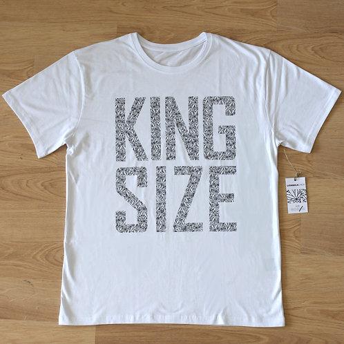 King Size t-shirt by Lionmilk / White