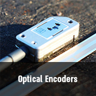Optical linear and rotary encoders of highest resolution and precision