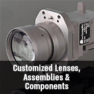 Precise optical components and optomechanical modules from design to production