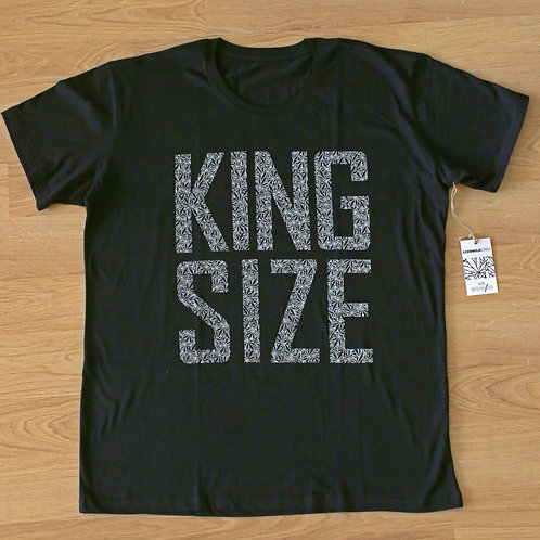 King Size t-shirt by Lionmilk / Black
