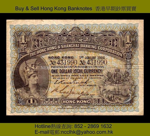 01. HSBC  1904 $1a