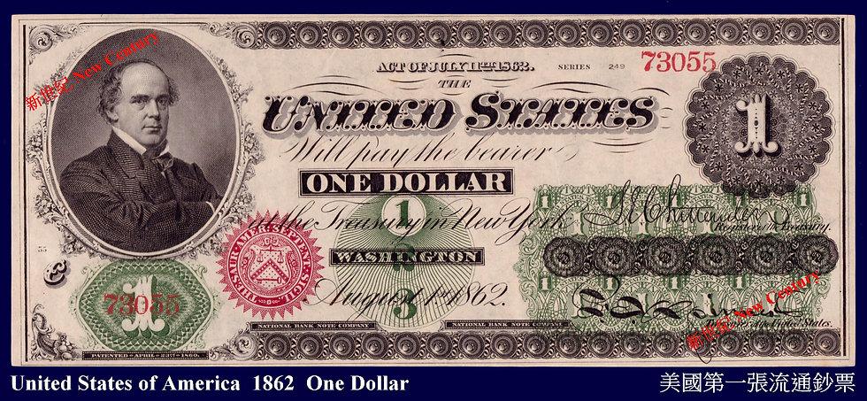 WN- USA  1862  $1