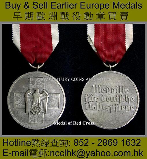 9. Medal of Red Cross