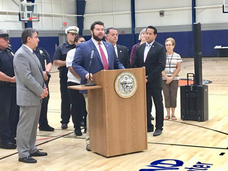 Councilor Jesse Lederman Joins in Announcing Funding of Hub & COR Public Safety Initiative