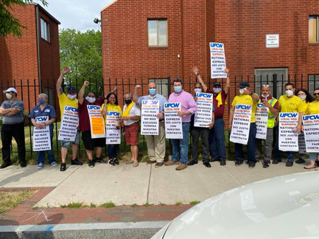 City Councilors Back UFCW 1459 National Express Drivers in Union Negotiations