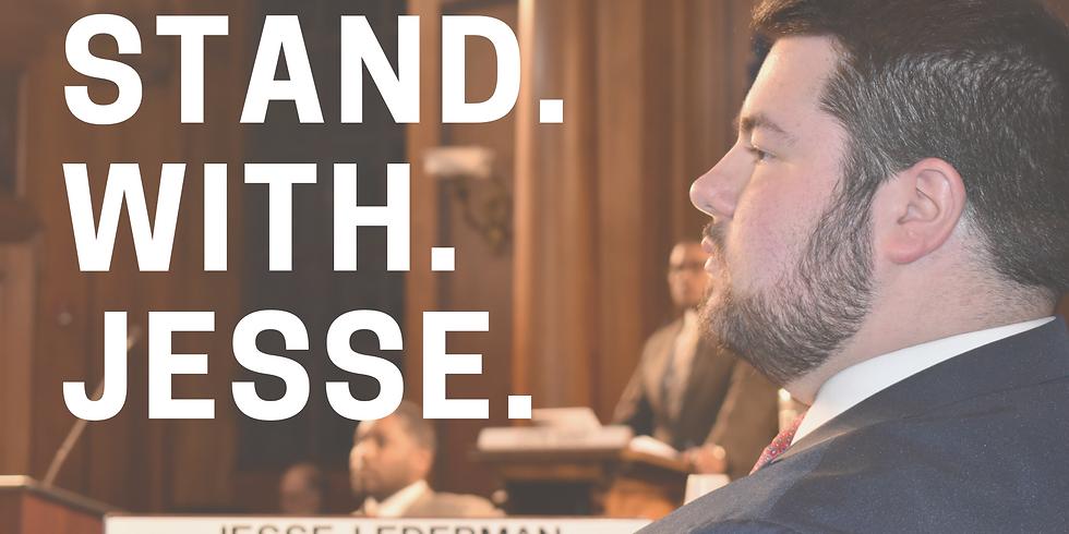 Rally to Re-Elect City Councilor Jesse Lederman