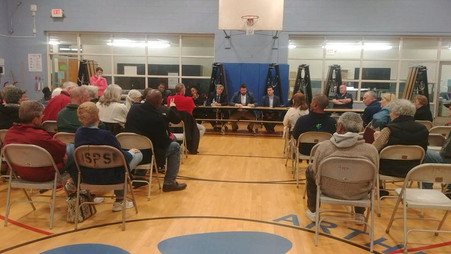 Residents Attend Town Hall Meeting in Outer Belt with Councilor Lederman, Elected Officials