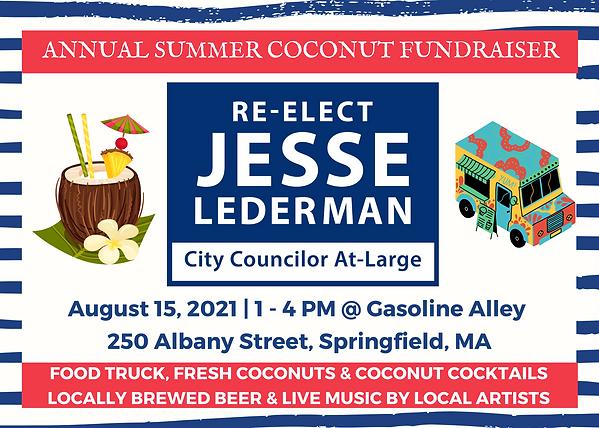 Lederman 2021 Annual Coconut Fundraiser Invite.png