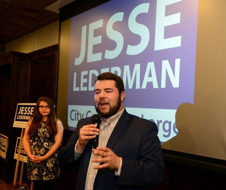 Springfield City Councilor-elect Jesse Lederman scores 2nd victory on Election Night: Supporter says