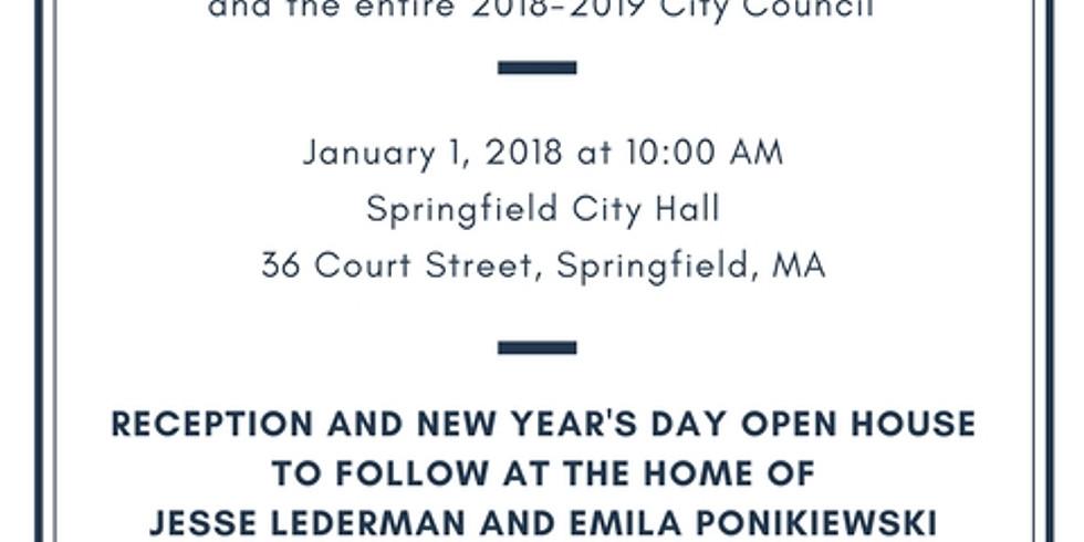 Swearing In of City Councilor Jesse Lederman & Reception