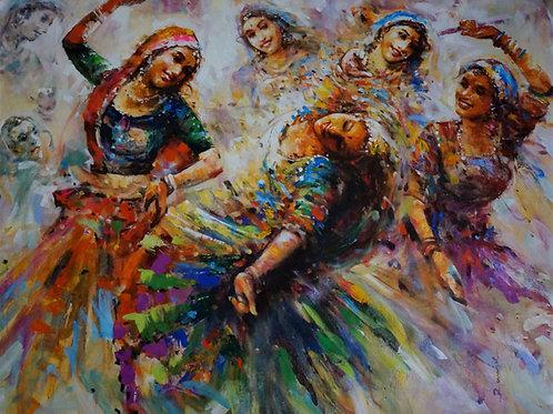 The Ghumar Dancers 2