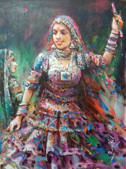 Lady in Dandia 2