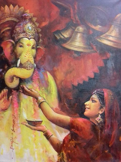 Ganeshji Devotion
