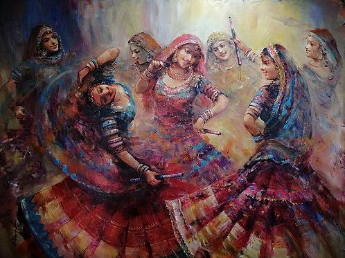 The Ghoomar Dancers 8