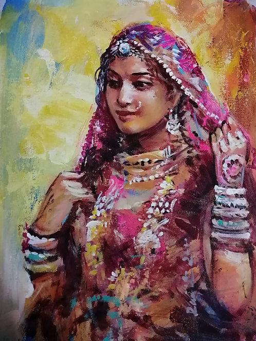 The Rajasthani Lady 2