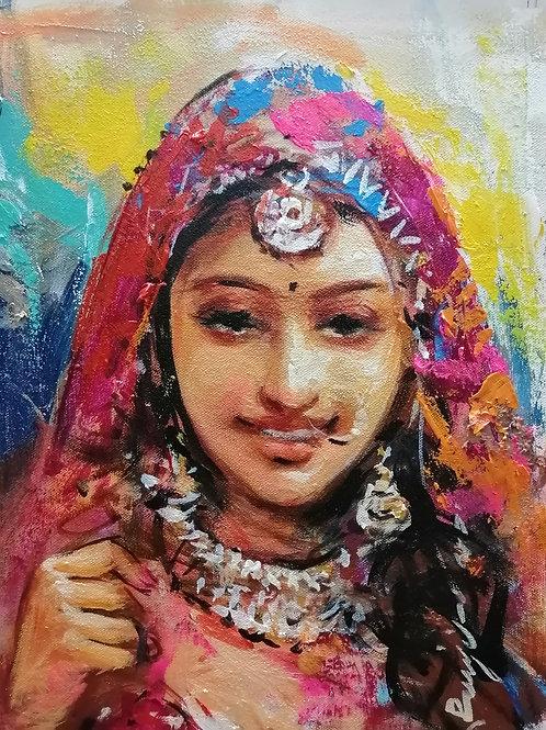 The Rajasthani Lady 3