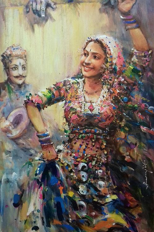 The Kathputli Dance