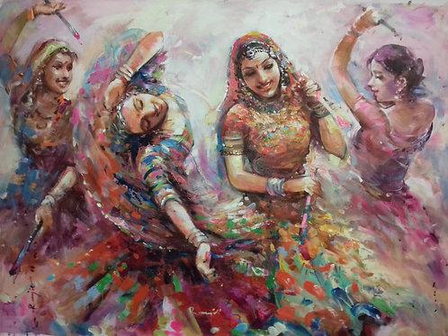 The Dandia Dancers 2