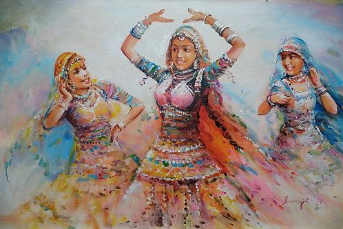 Dancing Ladies