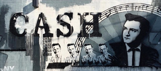 Johnny Cash mural
