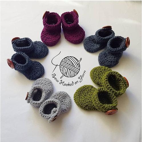 Merino - Button up booties