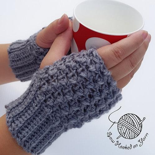 Fingerless gloves - Wool