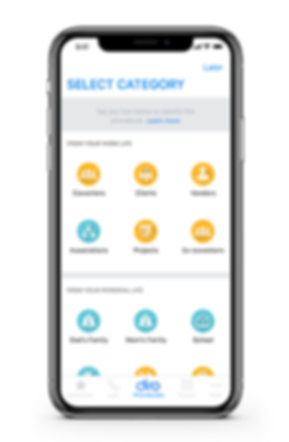 Diro Phonebook App, Cntacts Management