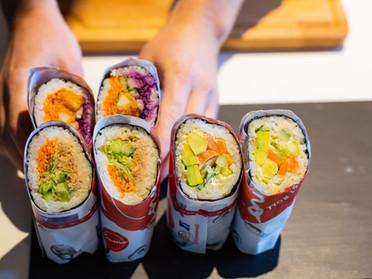 Portrait: KUMO fusionne le maki et le burrito