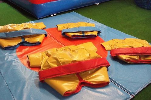 KIT 4 COSTUMES SUMOS ADULTES & ENFANTS