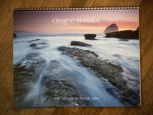 2021 - Oregon in Color Calendar