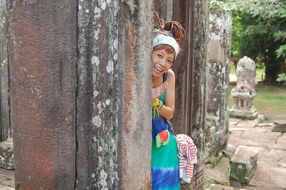 コジマサトコ in カンボジア