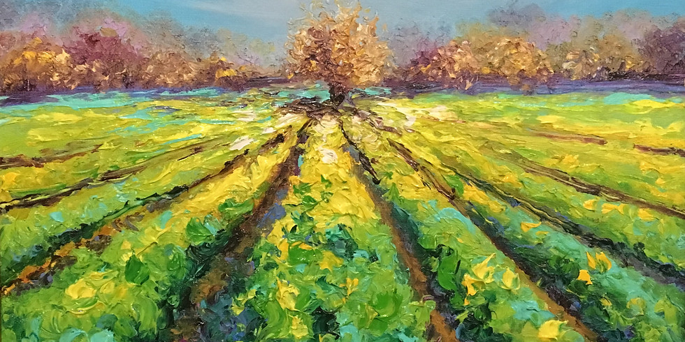 Try It! Fingerpainting A Vibrant Spring Landscape w/ Kimberly Adams