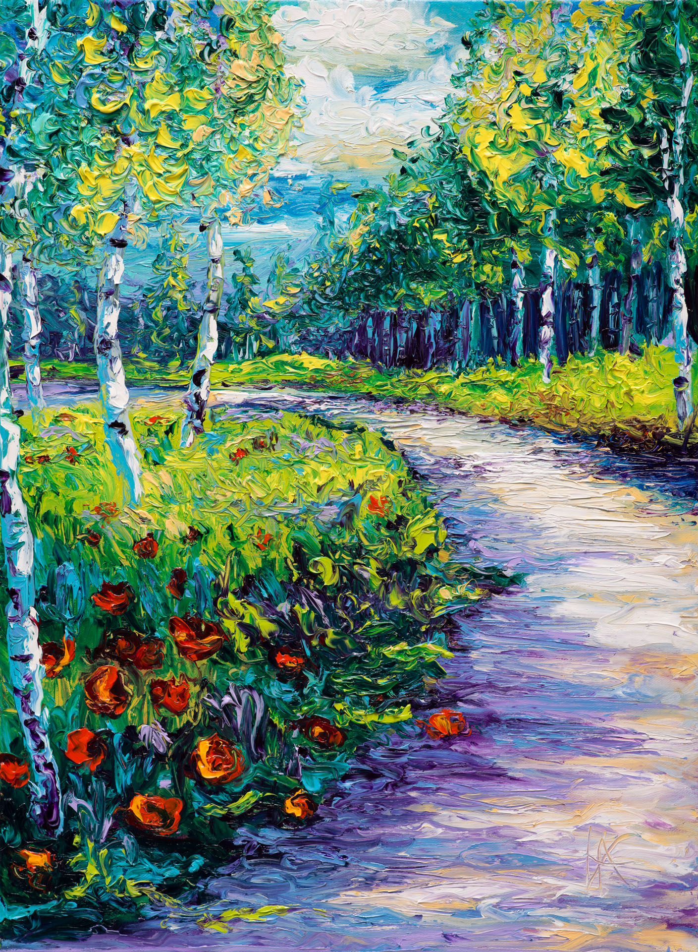 RADIANT PATH / 18X24in