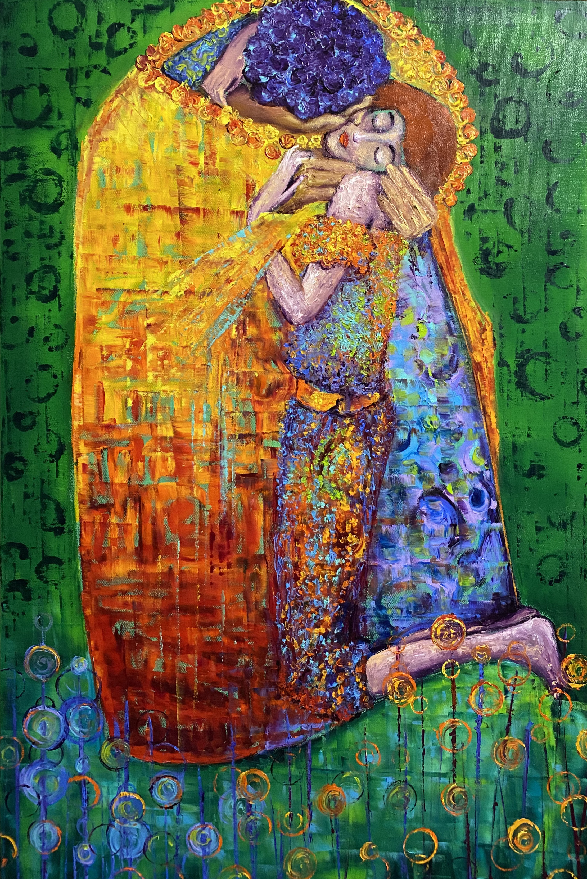 NEW! In The Manor Of Klimt - The Kiss