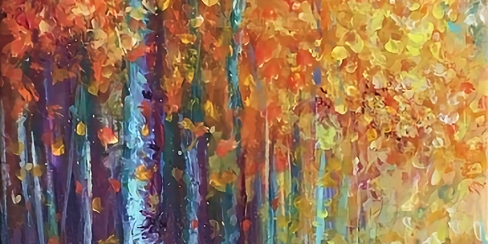 September 20th     Try it! Finger Painting a Fall Landscape w/ Kimberly Adams