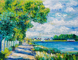 TRIBUTE TO MONET - BY THE SEA