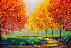 AUTUMN AFTERNOON / 24X36in