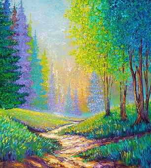 Kimberly Adams_Into The Forest_40x40_web