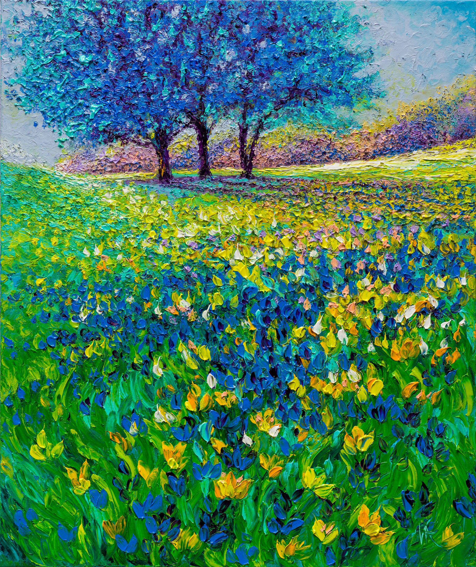 AZURE MORNING / 24x20in