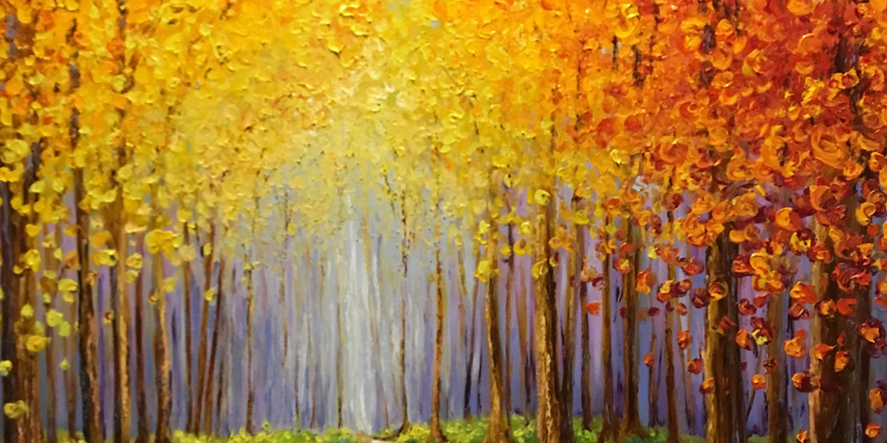 September 22nd & 23rd FINGER PAINTING FALL WORKSHOP WITH OILS