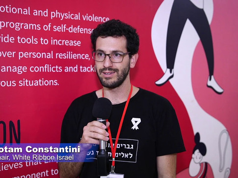 Yotam Constantini, Chair of White Ribbon, israel