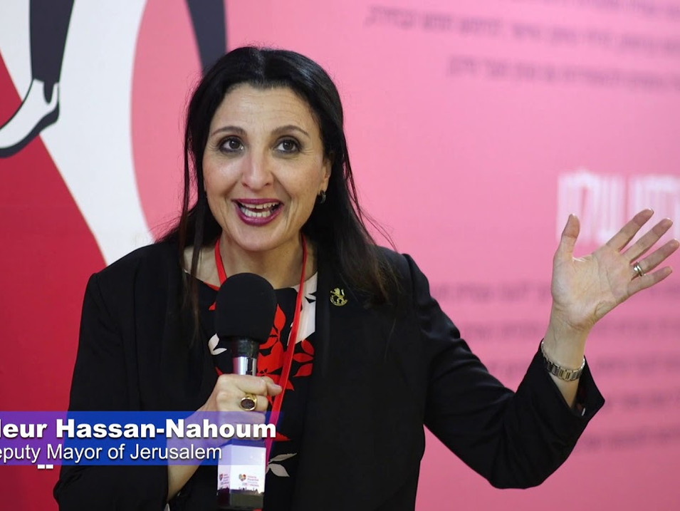 Fleur Hassan-Nahoum, Deputy Mayor of Jerusalem