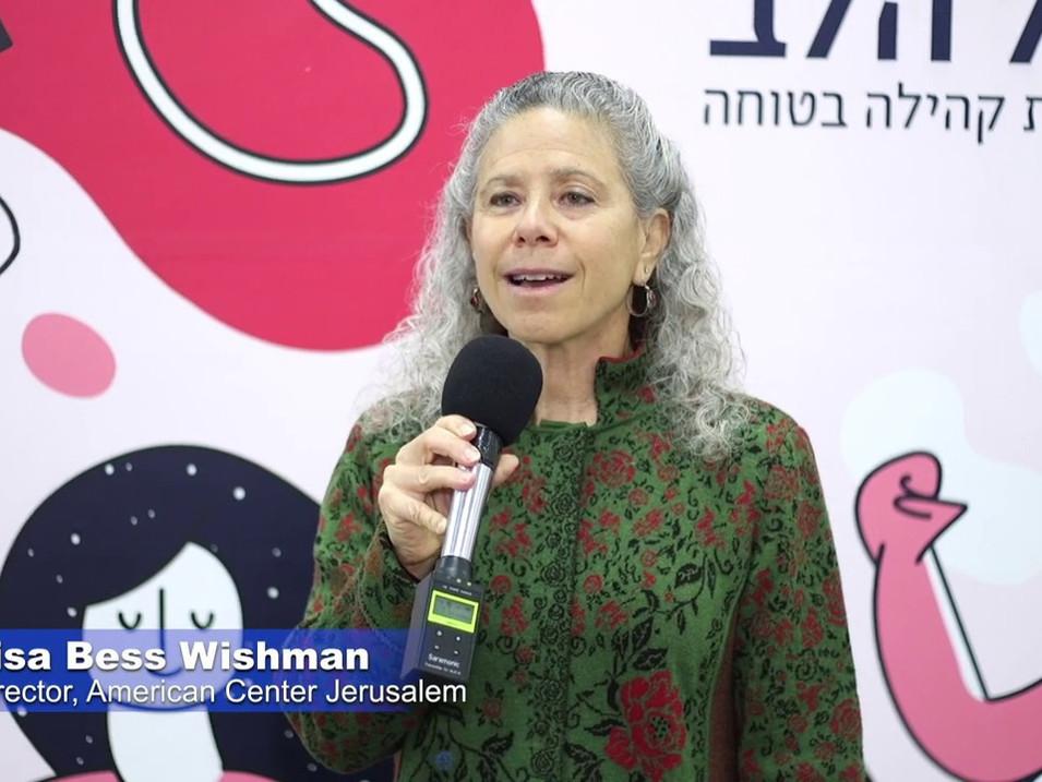 Lisa Bess Wishman, Director of the American Center Jerusalem